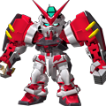 Unit bs astray red frame powered red