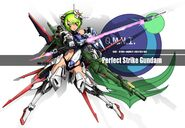 Perfect Strike Gundam MS Girl
