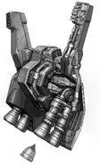RX-178 Gundam Mk. II - 02 Backpack