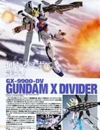 HG -GX-9900-DV - Gundam X Divider
