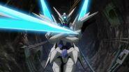 GN-9999 Transient Gundam (2 x GN Partisan) - Lance Bit
