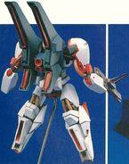 Model Kit - RS-NF-81 SES III Slave Sword Nemo Sword Custom Proto 3 - Back View