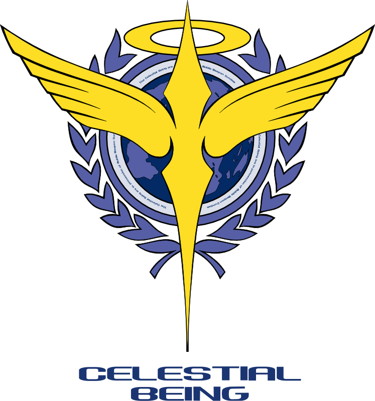 Archivo:Celestial Being Logo.png