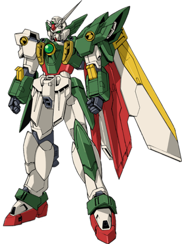 File:Wing Gundam Fenice - Front.png