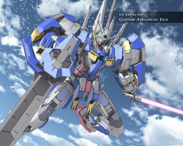 File:Gundam Avalanche Exia Sky Wallpaper.jpg