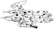 Lightning Gundam Full Burnern BW Flight Mode bottom