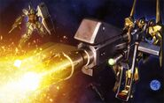 Hyaku Shiki Mega Launcher - Gundam Perfect File
