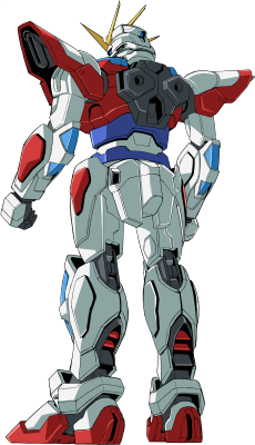 File:BG-011B Build Burning Gundam - Back.png