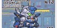 MSZ-009B Prototype ZZ Gundam B Type