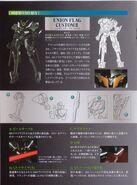 Gundam 00 DVD Booklet GN Flag