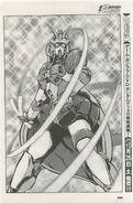 Nobel Gundam in manga Erupting Neo Hong Kong!