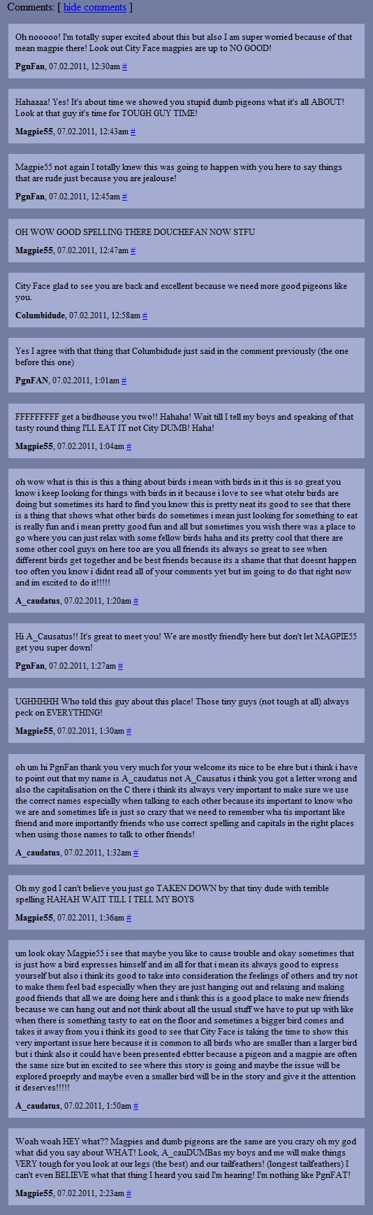 Cityface2 comments 1
