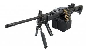 Israel Weapon Industries IWI Negev NG7 Lightweight Select-Fire 7.62x51mm NATO Medium Machine Gun MMG GPMG 1 small1-1024x619