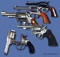 Machine-gun-revolver