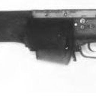 Second-generation SPIW prototype w/ single-shot DBCATA launcher plate