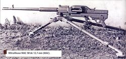 MAC-58 machine gun
