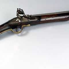 An English flintlock <a href=