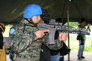 Soldier with modern K1A