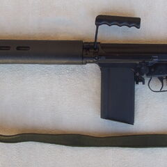 Commonwealth L1A1 SLR (Self Loading Rifle).