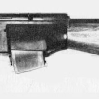 Second-generation SPIW prototype w/ 3-shot DBCATA launcher plate