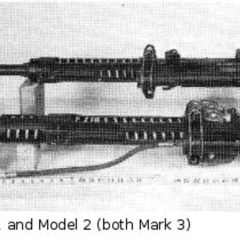 Comparison of Type 99 Mark 1 and Mark 2 (both Model 3).
