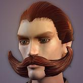 MaleLeo Mustache