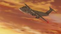 C-5M Super Galaxy maneuvering