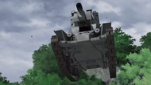 BT-42 leaping into action