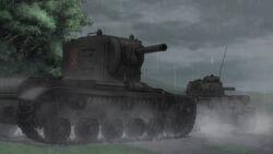 KV-tan last stand