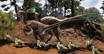Dromaeosaur