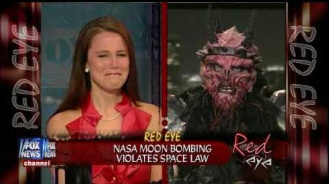 Red Eye On FOX News - 2nd Appearance by GWAR Frontman Oderus Urungus
