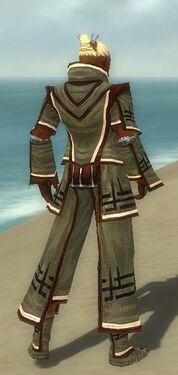 Monk Kurzick Armor M gray back