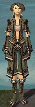 Monk Kurzick Armor F gray front