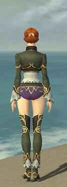 Mesmer Monument Armor F gray chest feet back