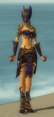Ritualist Monument Armor F dyed front