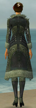 Mesmer Kurzick Armor F gray chest feet back