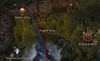 Pongmei Valley map