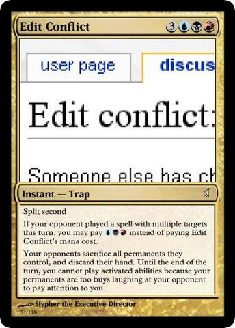 File:Slypher's Edit Conflict Magic Card.jpg