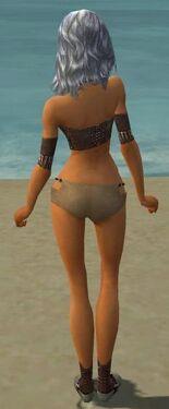 Dervish Elite Sunspear Armor F gray chest feet back