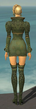 Mesmer Canthan Armor F gray chest feet back