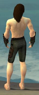 Ranger Obsidian Armor M gray arms legs back