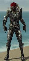 Necromancer Monument Armor M gray front