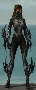 Assassin Vabbian Armor F gray front
