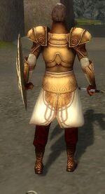 General Morgahn Primeval Armor Back