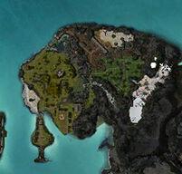 Zaishen Menagerie Grounds map
