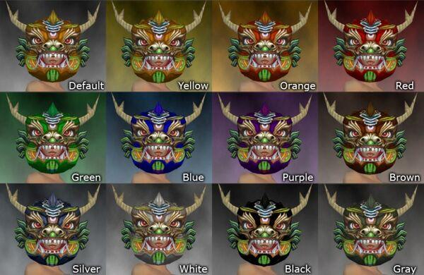 Imperial Dragon Mask dye chart