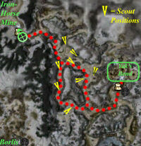 Traveler's Vale to Yak's Bend
