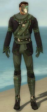 Mesmer Elite Luxon Armor M gray front