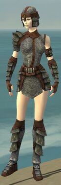 Warrior Krytan Armor F gray front