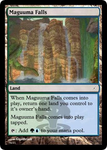 File:Giga's Maguuma Falls Magic Card.jpg